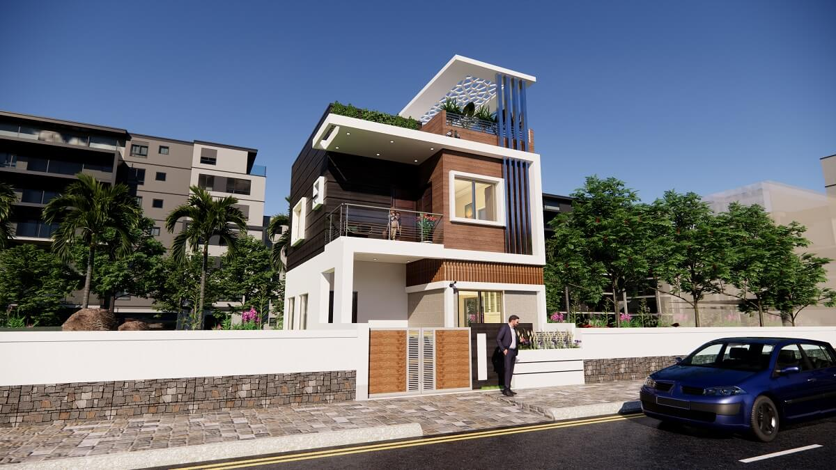 Small Space House Design 20x30 Feet With Car Parking Complete Details Desimesikho