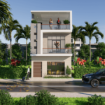 20x40 Feet Small House Design With 4 Bedrom