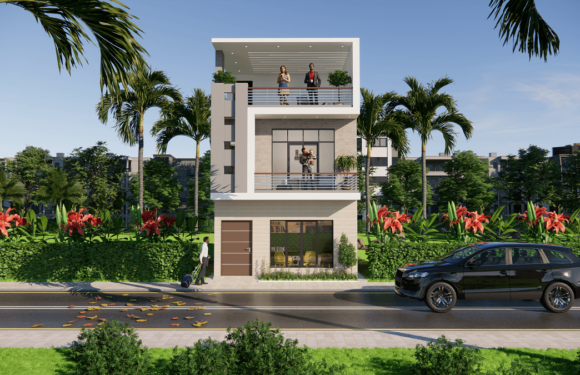 20×40 Feet Small House Design With 4 Bedrom Complete Details