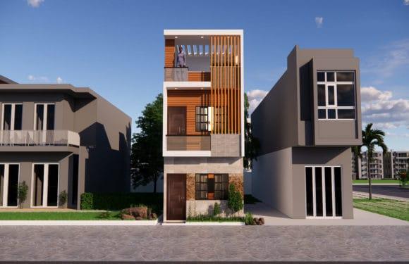 12×36 Feet East Facing House Design Complete Details