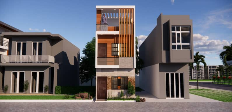 12×36 Feet East Facing House Design Complete Details