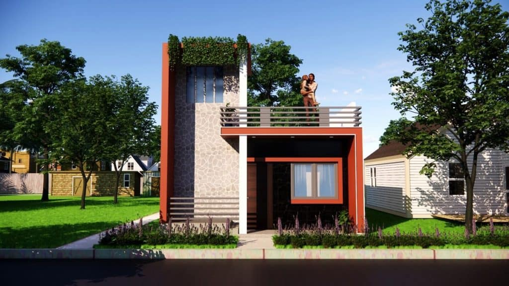 20x30 Feet One Story House Small Space House With 3 Bedroom