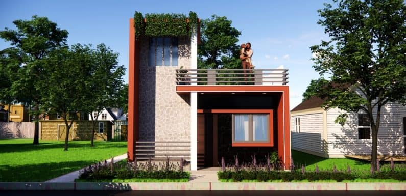 20×30 Feet One Story House Small Space House With 3 Bedroom Complete Details