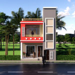 20x45 Feet House Design For For Rent Purpose