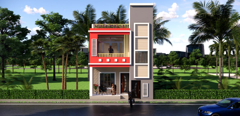 20×45 Feet House Design For Rent Purpose With Parking Complete Details