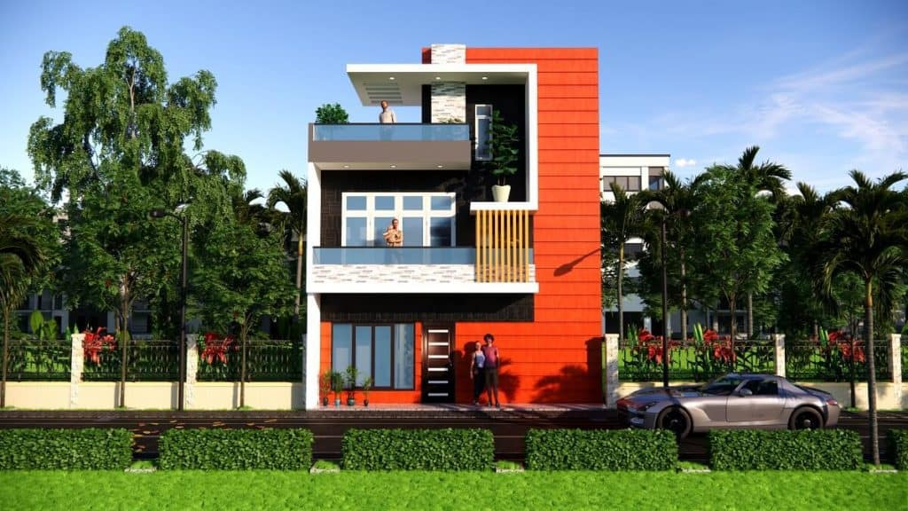 25x30 Feet 25by30 Small Space House Design Home Design 25 feet by 30 feet