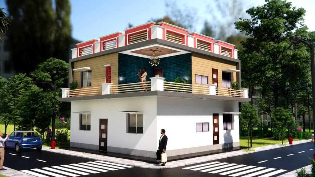 30x30 Feet Small Space House Design 900 Sqf House Plan