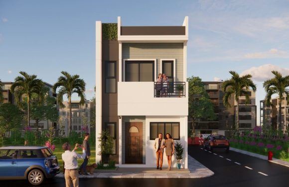 Duplex House Design With Front Elevation || 15×35 Feet House Plan Complete Details