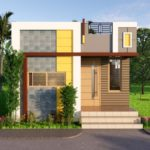 16x20 Feet Small Space House Design 1BHK