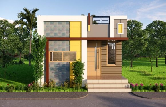16X20 Feet Small Space House 1BHK || 16 by 20 Feet || 320 sqft House Plan Complete Details